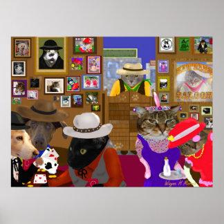 El cuadro 3 del salón póster