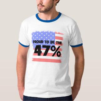 el cuarenta y siete por ciento remera