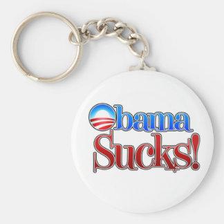 El cuartel Obama chupa Llavero Redondo Tipo Pin