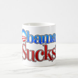 El cuartel Obama chupa Tazas De Café