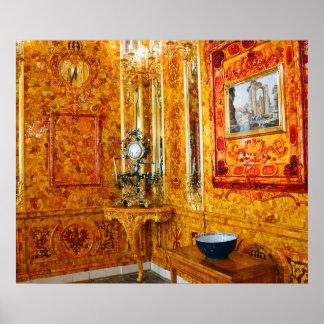El cuarto ambarino en el palacio de Catherine, Póster