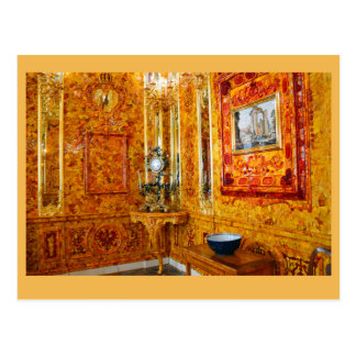 El cuarto ambarino, palacio de Catherine, Rusia Postales