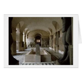 El cuarto asirio en el Louvre en París (foto) Tarjeta De Felicitación