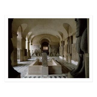 El cuarto asirio en el Louvre en París (foto) Tarjetas Postales