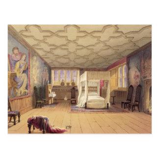El cuarto blanco, casa de Cotehele, c.1830-40 Tarjetas Postales
