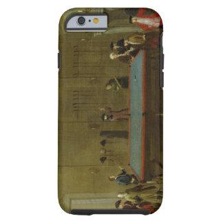 El cuarto de billar (aceite en lona) funda de iPhone 6 tough