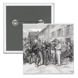 """El cuarto de club de Zermatt en 1864, """"de la subid Pin"""