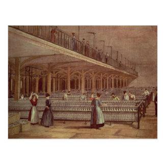 El cuarto de duplicación decano Mills 1851 Postal