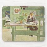 """El cuarto de estudio, pub. en """"Lasst Licht Hinin""""  Tapetes De Ratón"""