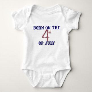El cuarto de julio protagoniza la camiseta playeras