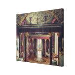 El cuarto de la ágata en el palacio de Catherine Impresión En Lona