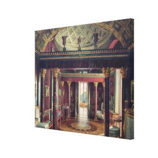 El cuarto de la ágata en el palacio de Catherine Impresiones En Lienzo Estiradas