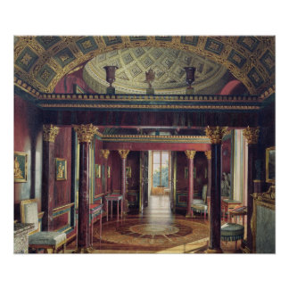 El cuarto de la ágata en el palacio de Catherine Poster