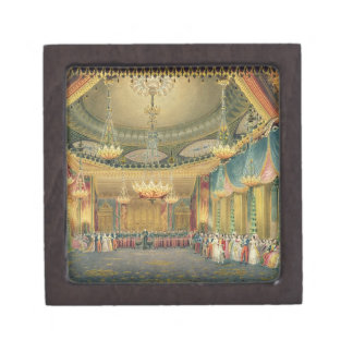 El cuarto de la música de vistas del pabellón re cajas de joyas de calidad