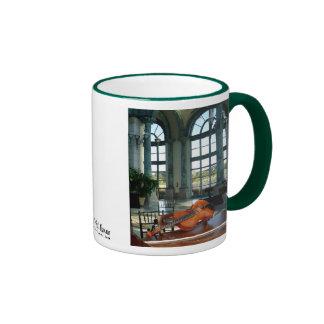 El cuarto de la música tazas de café