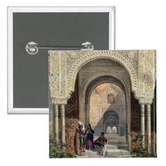 El cuarto de las dos hermanas en Alhambra, Grana Pin Cuadrado