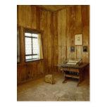 El cuarto de Luther en el castillo de Wartburg Tarjeta Postal