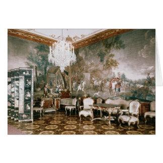 El cuarto de Napoleon en el palacio de Schonbrunn Tarjeta De Felicitación