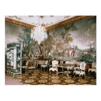 El cuarto de Napoleon en el palacio de Schonbrunn Tarjeta Postal