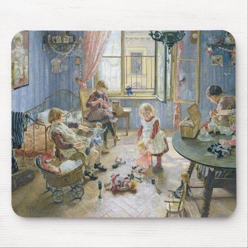 El cuarto de niños, 1889 alfombrilla de ratón
