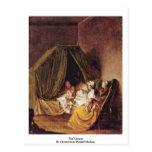 El cuarto de niños de Chodowiecki Daniel Nicolás Tarjetas Postales