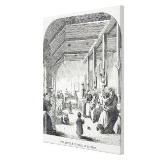 El cuarto de niños del Convict en Brixton, 'del cr Impresión De Lienzo