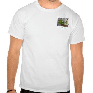 El cuarto del jardín camisetas