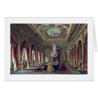 El cuarto del trono, casa de Carlton, 'de la histo Tarjeta De Felicitación