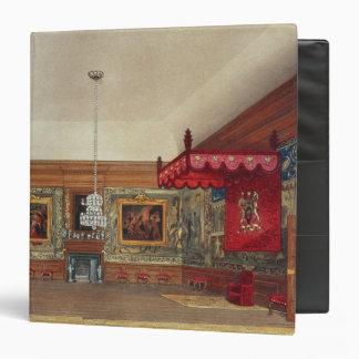 "El cuarto del trono, Hampton Court Carpeta 1 1/2"""
