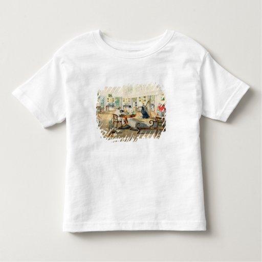 El cuarto del verano en la casa del artista en tshirt