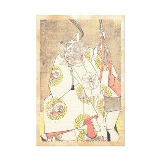 El cuarto Ichikawa Danjuro en el papel de Otomo Lienzo Envuelto Para Galerias