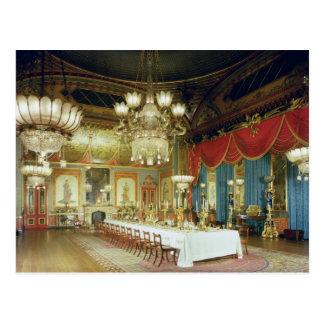 El cuarto que banquetea 1815-23 postal