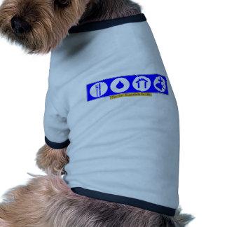 El cuatro esencial para la vida ropa de perros