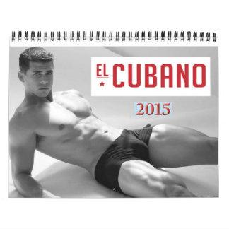 EL CUBANO Male Calendar