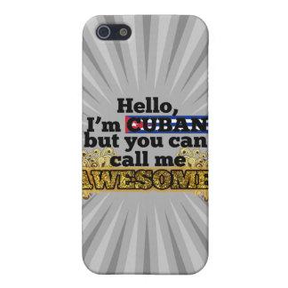 El cubano, pero me llama impresionante iPhone 5 cárcasas