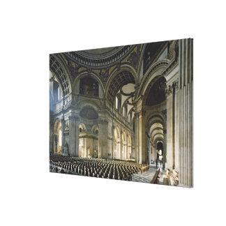 El cubo de la catedral de San Pablo (foto) Impresión En Lona Estirada