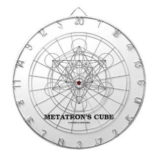 El cubo de Metatron (geometría sagrada) Tabla Dardos