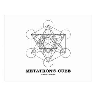 El cubo de Metatron (geometría sagrada) Postales