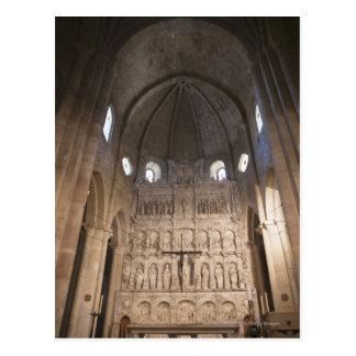 El cubo del monasterio de Santa María De Poblet Postal