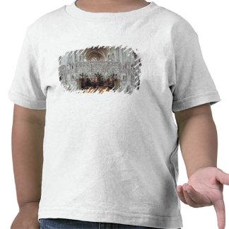 El cubo y el interior de Eglise Camisetas