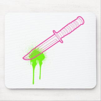 El cuchillo de las rosas fuertes tapete de ratones