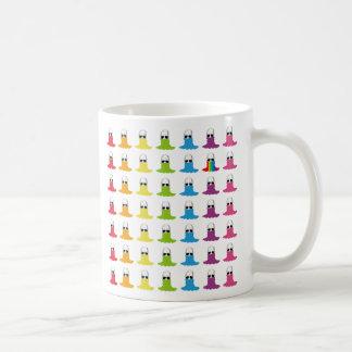 El cuello alto sonriente Allstars Rainbow7 B del Taza Clásica