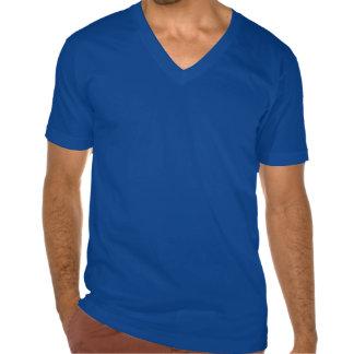El cuello en v de los hombres sea nuestra camisa