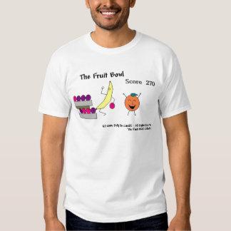 El cuenco de fruta playeras