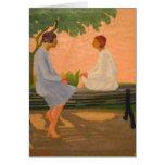 EL Cuentito - tarjeta del arte