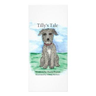 El cuento de Tilly Diseño De Tarjeta Publicitaria