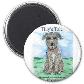 El cuento de Tilly Imán Redondo 5 Cm