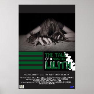 El cuento de un monstruo: Lilith Impresiones