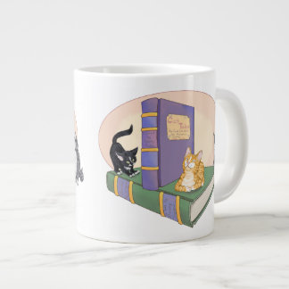 El cuento del gatito taza de café grande