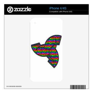 El cuerno de Odin Calcomanía Para El iPhone 4